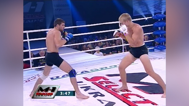 Сергей Адамчук vs Александр Зинченко, M-1 Selection Ukraine 2010 - Clash of the Titans