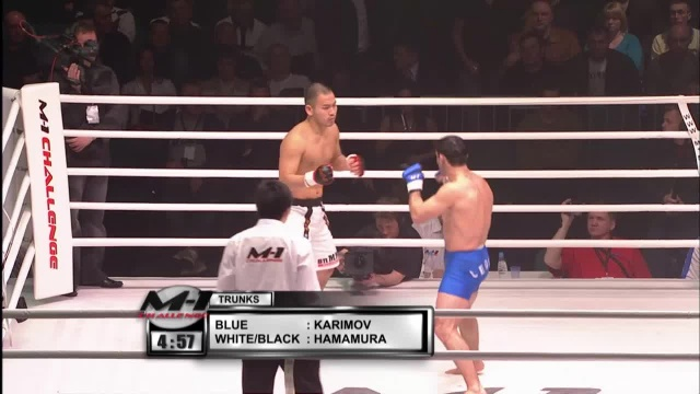 Кен Хамамура vs Ислам Каримов, M-1 Challenge 02