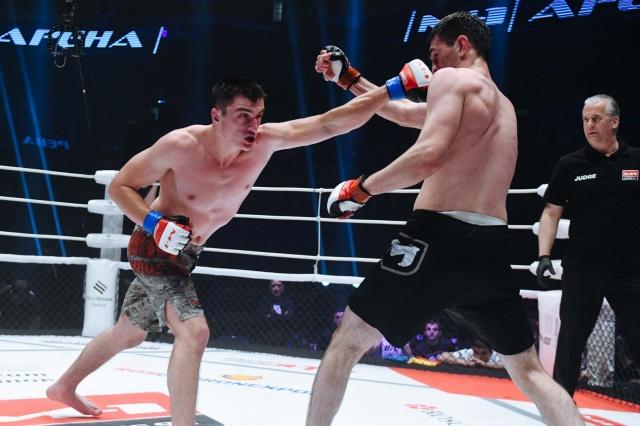 Амиран Гоголадзе vs Таймураз Гуриев, M-1 Challenge 92