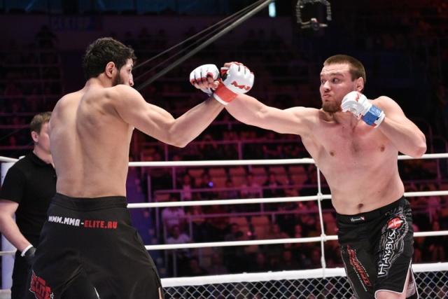 Рашид Юсупов vs Митрий Медведев, M-1 Challenge 57
