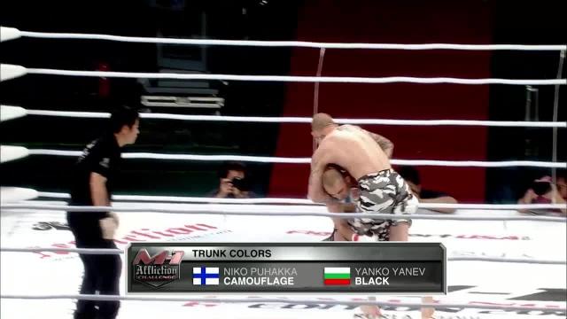 Нико Пухакка vs Янко Янев, M-1 Challenge 17