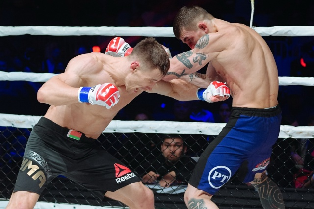 Артём Дамковский vs Владимир Канунников, M-1 Challenge 105