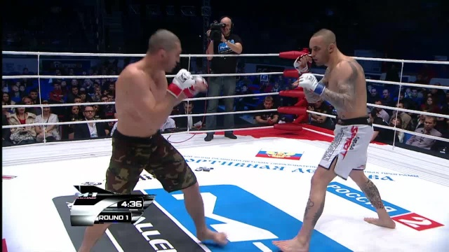 Арсен Темирханов vs Кристиан Эккерлин, M-1 Challenge 29