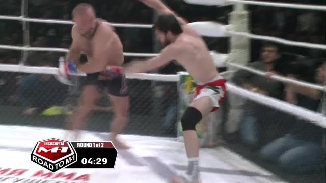 Игорь Тарыца vs Заурбек Дарсигов, Road to M-1: Ingushetia 3