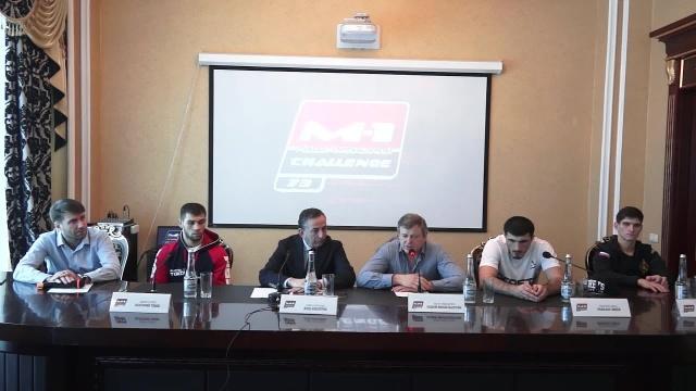 Пресс-конференция перед M-1 Challenge 73, Назрань, Ингушетия
