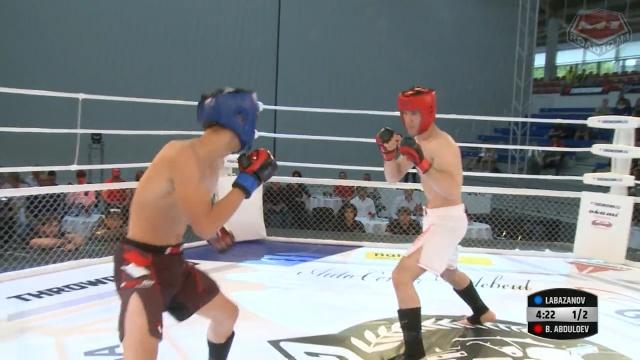 Бахтиер Абдуллоев vs Тимур Лабазанов, Road to M-1: Germany
