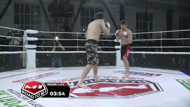Мансур Витаев vs Адам Гагиев, Road to M-1: Ingushetia 2