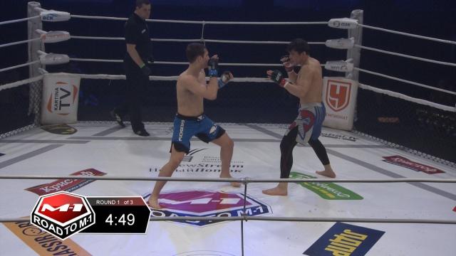 Руслан Шамилов vs Бек Исаков, Road to M-1 - Saint Petersburg 2