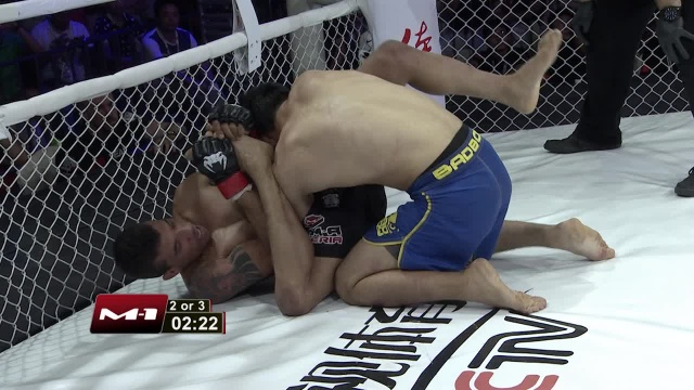 Koishybek Daniyar vs Eduardo Azevedo, Road to M-1: China