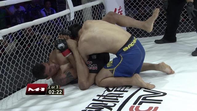 Koishybek Daniyar vs Eduardo Azevedo, Road to M-1: China