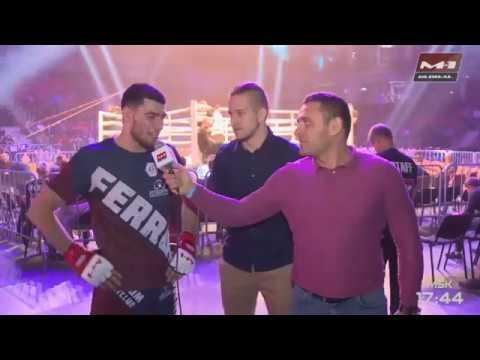 Магомед Магомедов, интервью после победы