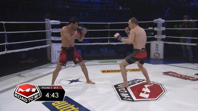 Аскерхан Магомедов vs Михаил Кузнецов, Road to M-1 - Saint Petersburg 2