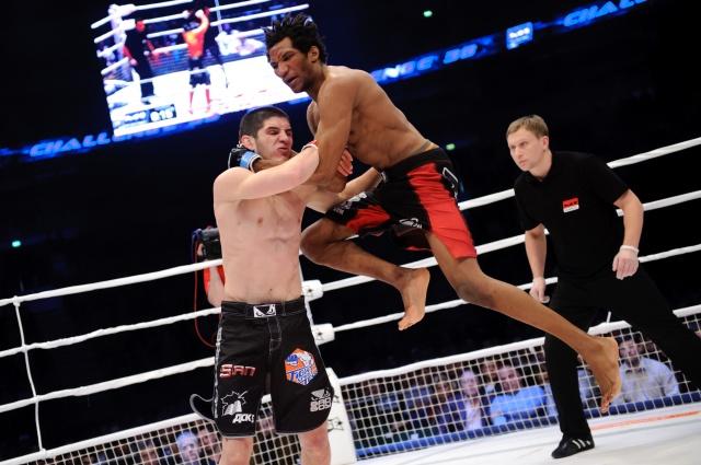Мансур Барнуи vs Ислам Махачев, M-1 Challenge 38