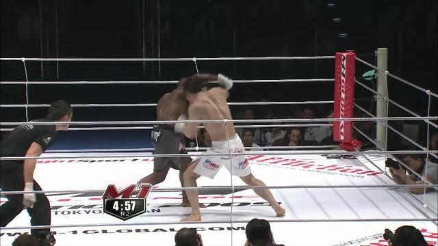 Фабио Насименто vs Бае Минг Хо, M-1 Challenge 14