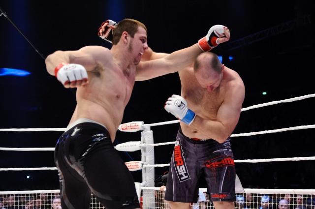 Никита Крылов vs Габриэль Тампу, M-1 Challenge 38
