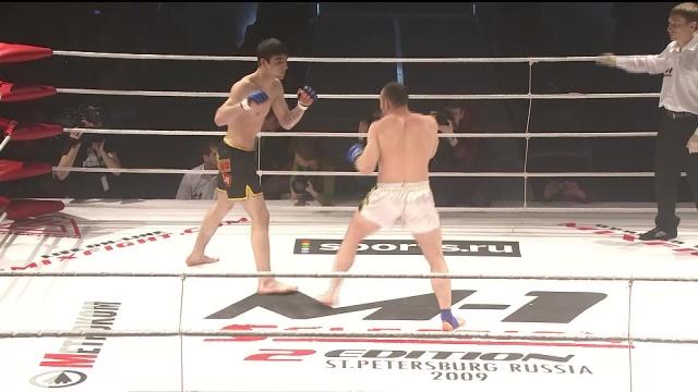 Бислан Атлешев vs Рустам Тхабабсоев, M-1 Selection 2009 2