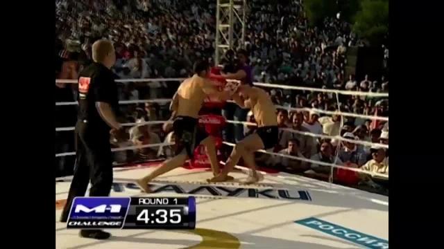 Жуан Мануэль Суарез vs Эрик Оганов, M-1 Challenge 33
