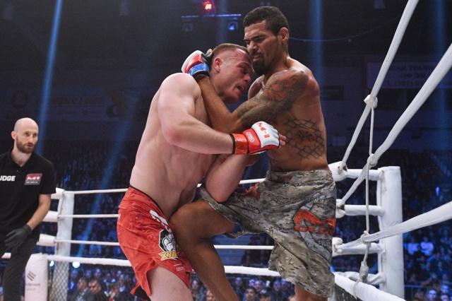 Рожерио Карранка vs Алексей Махно, M-1 Challenge 93