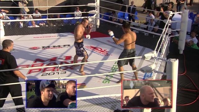 Иван Лапердин vs Евгений Сергеев, M-1 Challenge 41