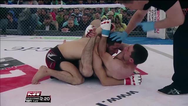 Марат Кишаев vs Руслан Эсмурзиев, M-1 Challenge 58