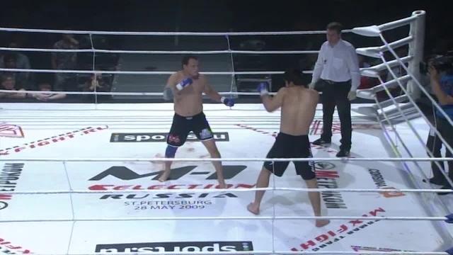 Алексей Беляев vs Макашарип Макашарипов, M-1 Selection 2009 3