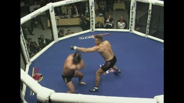 Роман Зенцов vs Герман Ван Тол, M-1 MFC - World Championship 2000