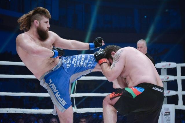 Таннер Босер vs Заур Гаджибабаев, M-1 Challenge 101