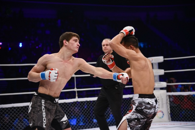 Jianwei He vs Movsar Evloev, M-1 Challenge 53
