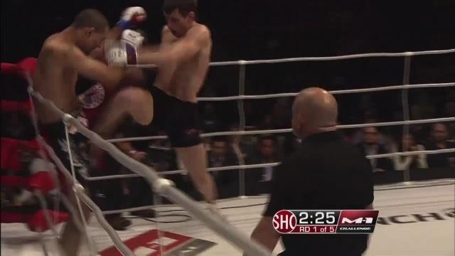 Хосе Фигероа vs Артем Дамковский, M-1 Challenge 24