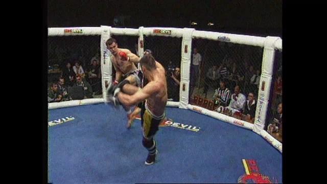 Сергей Завадский vs Роберто Шерниус, M-1 MFC European Championship 1998