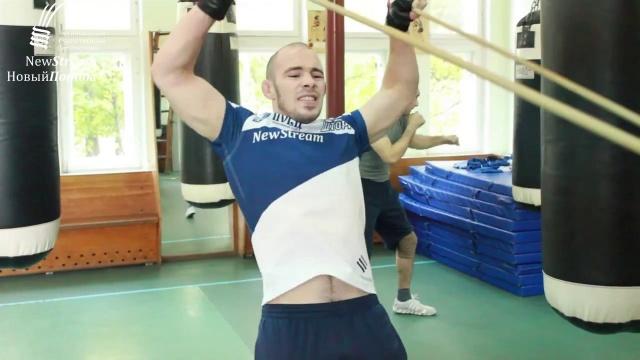 Боец New Stream Роман Богатов - подготовка к M-1 Challenge 84