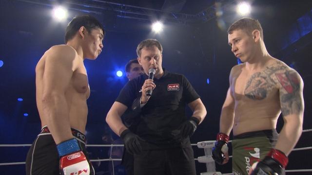 Расул Тезекбаев vs Олег Хромов, Road to M-1 - Saint Petersburg 2