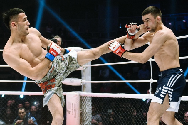 Бобур Курбанов vs Павел Гордеев, M-1 Challenge 87