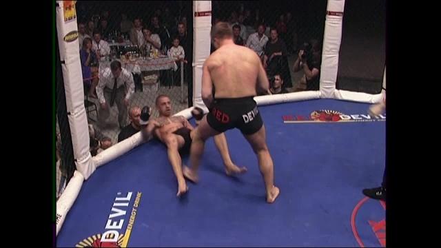 Сергей Бычков vs Томас Хенгстбергер, M-1 MFC - Russia vs. the World 1