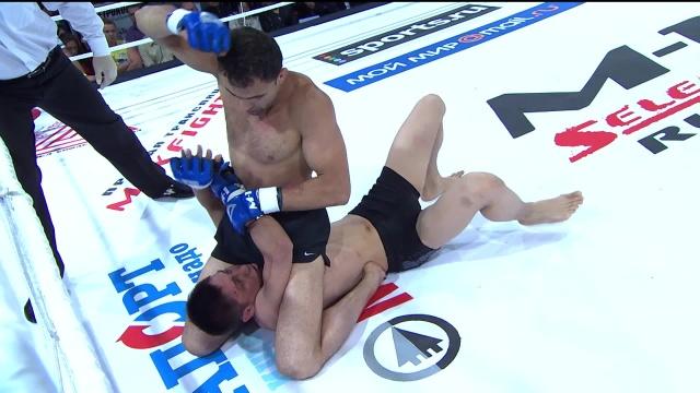 Джамал Курбанов vs Алишер Сатибальдыев, M-1 Selection 2009 5