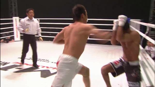 Хьюн Гу Лим vs Лусио Линьярес, M-1 Challenge 02