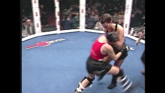 Лус Шолтен Албес vs Елена Панлова, M-1 MFC - World Championship 1997