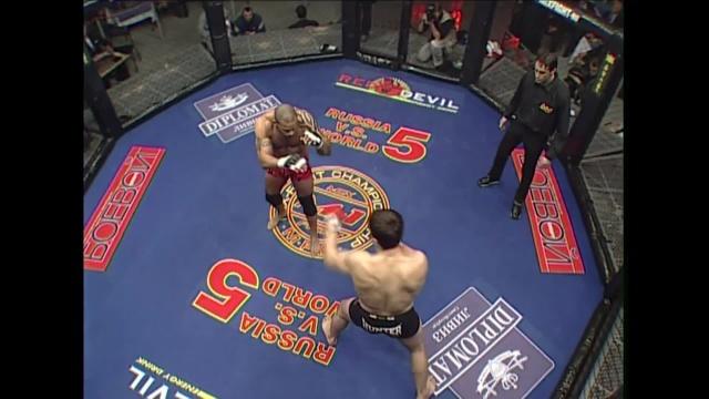 Ибрагим Магомедов vs Валентин Оверим, M-1 MFC - Russia vs. the World 5
