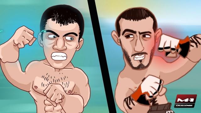 Анимационное промо турнира M-1 Challenge 73: Битва Нартов