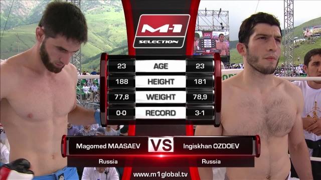 Магомед Маасаев vs Ингисхан Оздоев, M-1 Challenge 69