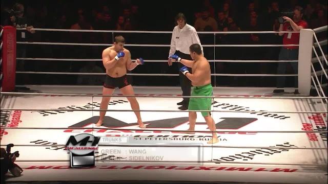 Чжон Во Ким vs Кирилл Сидельников, M-1 Challenge 09