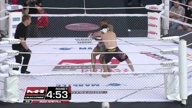 Магомед Идрисов vs Юрий Майя, M-1 Challenge 49