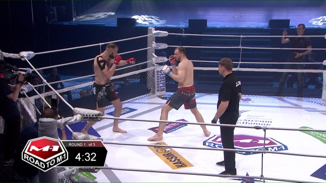 Александр Попов vs Асиф Абдурахманов, Road to M-1 - Saint Petersburg 3