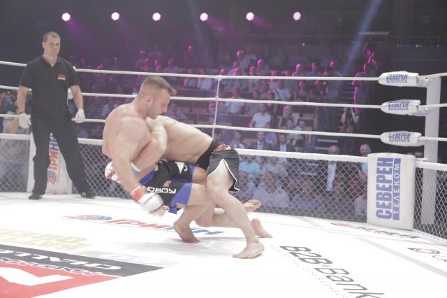 Талех Наджафзаде vs Иван Закабуня, M-1 Challenge 60