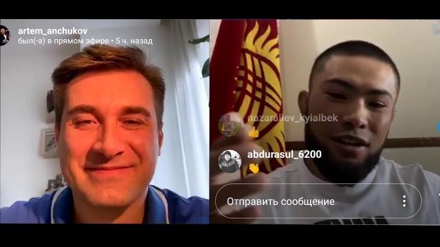 Бусурманкул Абдибаит Уулу: чемпионский бой, русский язык и ... песня!