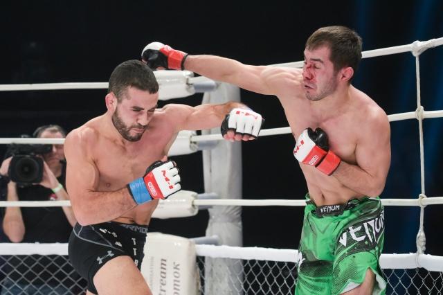 Alexey Naumov vs Moktar Benkaci, M-1 Challenge 72