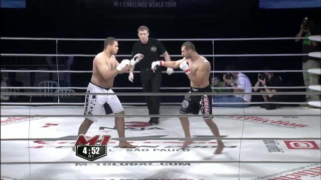 Джесси Гиббс vs Никола Дипчиков, M-1 Challenge 15