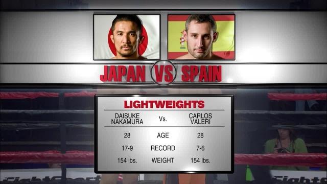 Дайсуке Накамура vs Карлос Валери, M-1 Challenge 08