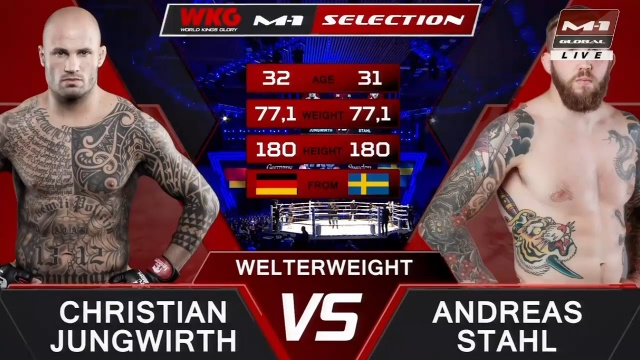 Christian Jungwirth vs Andreas Stahl, M-1 Challenge 103