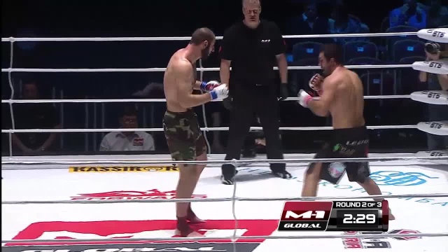 Салим Даудов vs Сергей Корнев, M-1 Global - Fedor vs. Monson
